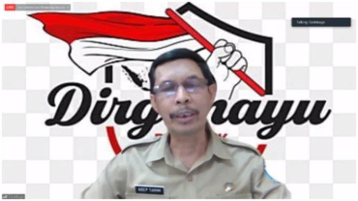 Sambutan dari bapak Drs. Asep Tamim, M.AP (Sekertaris Camat Gedebage Kab. Bandung)