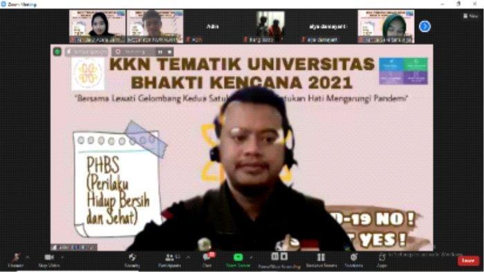 UBK Sosialisasikan PHBS Pada Masa Pandemi Covid-19 Di Smk Al-hasan Dan Sman 27 Bandung