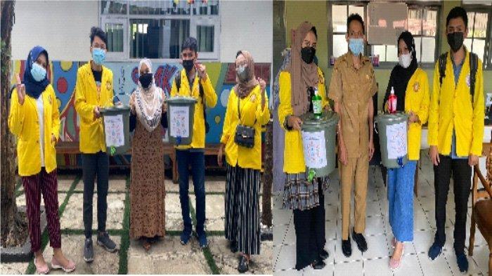 Program KKN kelompok 42 UBK berupa Sosialisasi PHBS Pada Masa Pandemi Covid-19 Di Smk Al-hasan Dan Sman 27 Bandung