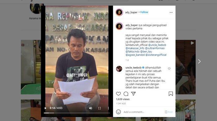 Klarifikasi Ady Baper terkait video viral kuli angkut di pelabuhan yang bawa banyak barang sekaligus.