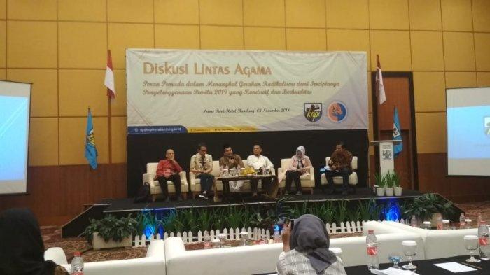 Jelang Pemilu 2019, KNPI Kota Bandung Gelar Diskusi Lintas Agama