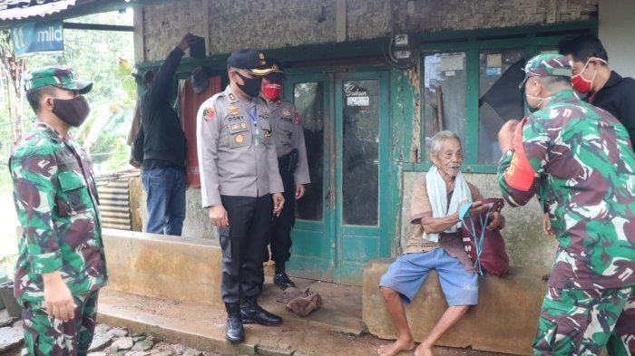 Polres Ciamis Kerahkan 4 Tim untuk Salurkan 1.313 Paket Sembako ke Warga Terdampak Corona
