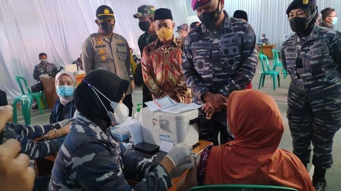 TNI AL Serbu Cianjur, Komandan Lantamal III Turun Tangan Amankan Perintah Jokowi, Bawa 1000 Dosis