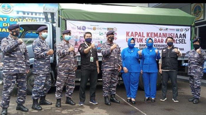 ACT Bandung Lepas Bantuan Kapal Kemanusiaan untuk Sulbar dan Kalsel