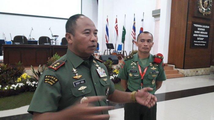 Komandan Sekoad: Tanpa Diminta TNI akan Turun ke Daerah Bencana