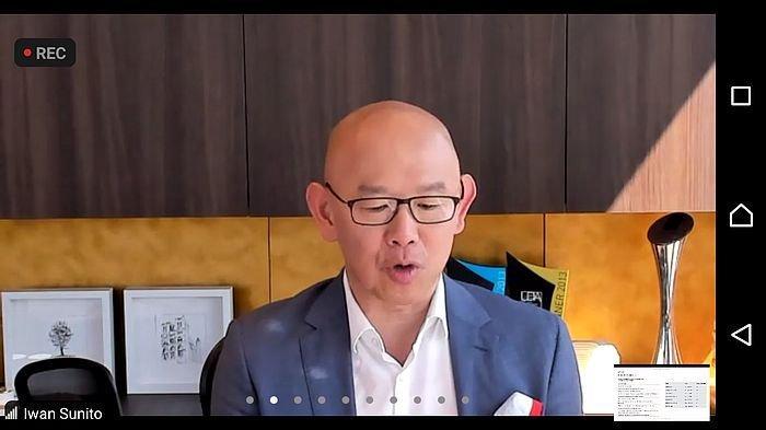 Komisaris dan CEO Crown Group, Iwan Sunito