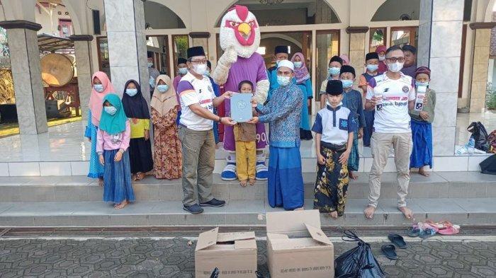 Balad Galuh Kembali Berbagi Bantuan di Masjid dan Puskesmas di Ciamis