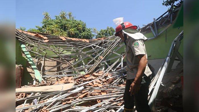 Fakta Gedung SDN Gentong Ambruk di Pasuruan, Baru 2 Tahun Hingga Reaksi Mendikbud Nadiem Makarim