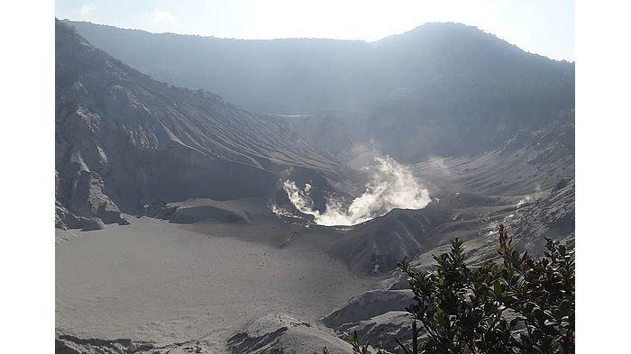 Gunung Tangkubanparahu Erupsi dalam Dua Pekan Ini, Begini Kondisinya Sekarang