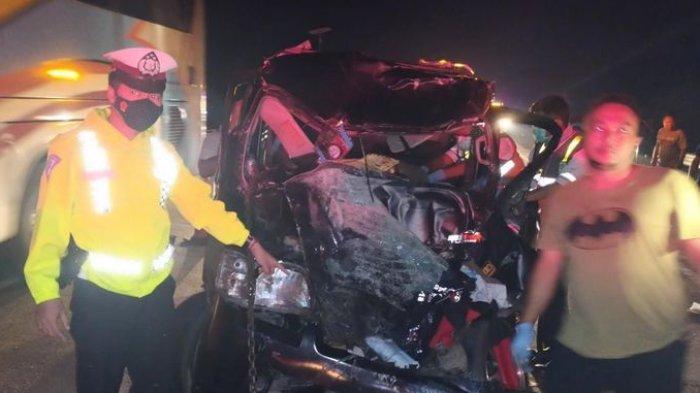 Kecelakaan Maut di Tol Cipali, Minibus Tabrak Bagian Belakang Kendaraan Lain, Satu Orang Meninggal