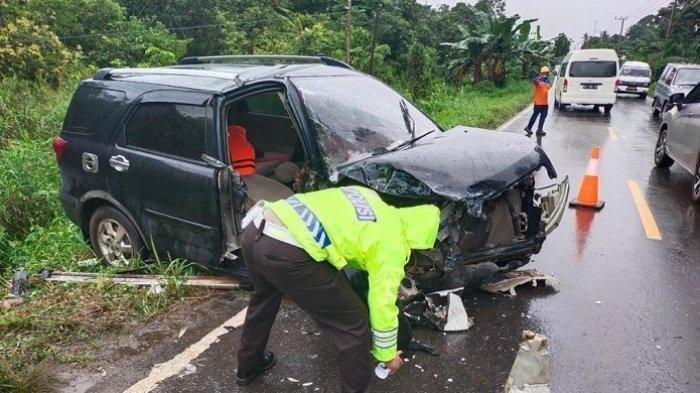 Kecelakaan Maut, Sopir Terios yang Nyelonong ke Jalan Berlawanan Tak Tertolong Setelah Dirawat