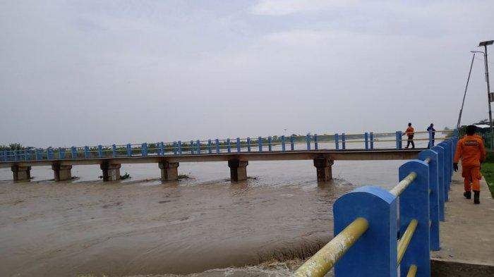 Sungai Cimanuk Indramayu Status Siaga, Warga Diminta Waspada