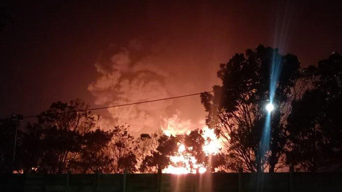 Barang Bukti Kebakaran Pertamina Indramayu Sudah Dibawa ke Mabes Polri