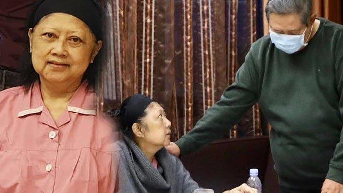 Wajah Sendu SBY Bareng AHY dan Ibas, Ekspresinya Pakai Batik Pesanan Ani Yudhoyono Jadi Perbincangan