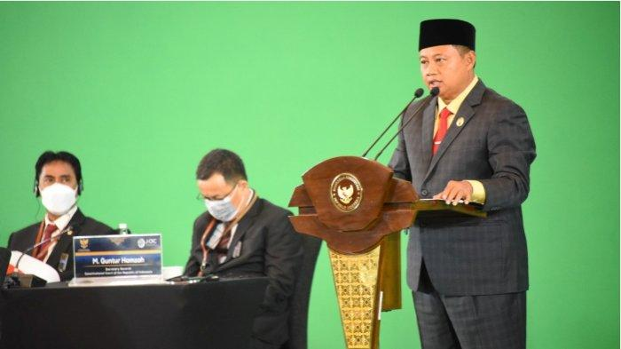 KONFERENSI JOIC  Wagub Uu: Kukuhkan Pancasila Sumber Konstitusi Indonesia