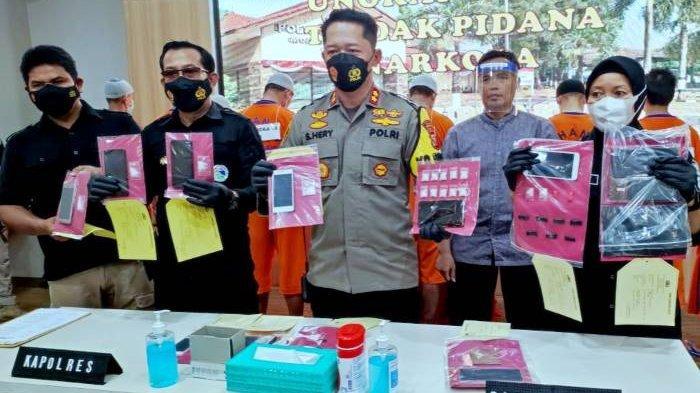Polres Purwakarta Bekuk 11 Pengedar Narkoba, Barang Bukti Terbanyak Jenis Tembakau Sintetis