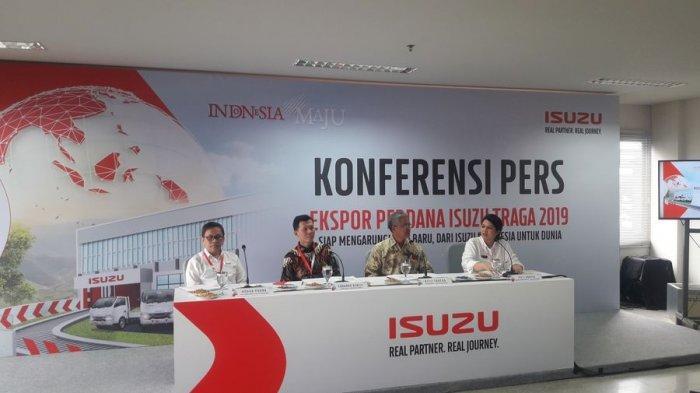 PT Isuzu Astra Motor Indonesia Optimistis Capai Target Ekspor