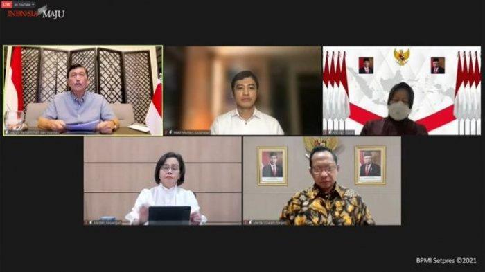 Menteri Luhut Binsar Pandjaitan Minta Maaf kepada Rakyat Indonesia Terkait PPKM Darurat