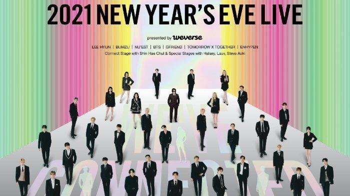 Konser Big Hit Labels 2021 New Year's Eve Live, Begini Cara Menonton dan Membeli Tiketnya