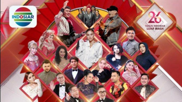 Tayang Sekarang Agnez Mo hingga Leslar di Konser Raya 26 Tahun Indosiar, Ini Link Live Streaming-nya