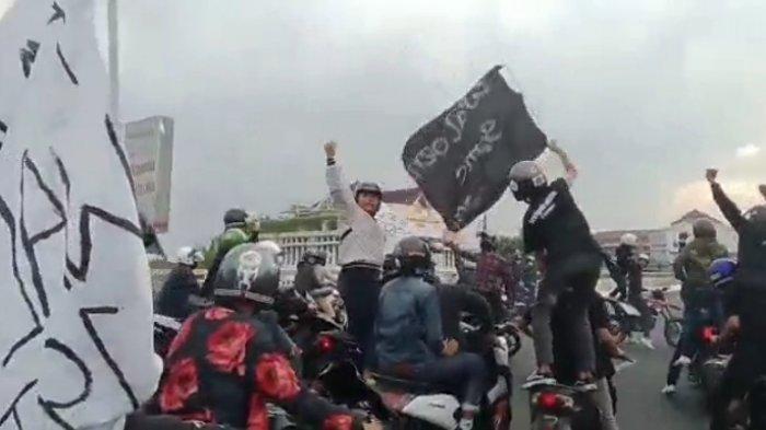Viral Aksi Puluhan Pemuda Bermotor Konvoi sampai Tutup Jalan Layang Pasoepati, Ini Penjelasan Polisi