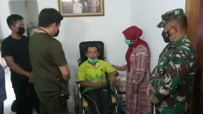 Kopka Ade yang Lumpuh Diserang Tawon Akhirnya Dijemput Tim Medis RSPAD Gatot Soebroto