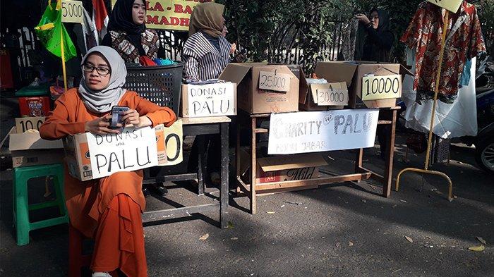 Korps PMII Putri Jabar Galang Donasi untuk Palu-Donggala, Sementara Dana Sudah Terkumpul Rp 1 Juta