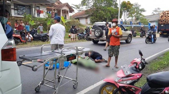 Diduga Korban Tabrak Lari, Pemotor di Pangandaran Meninggal Dunia, Avanza Penabrak Melaju Kencang