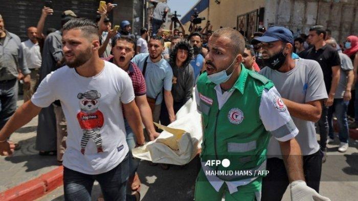 Israel Terus Serang Jalur Gaza, Anak-anak Turut Jadi Korban Meninggal, Total 21 Warga Tewas