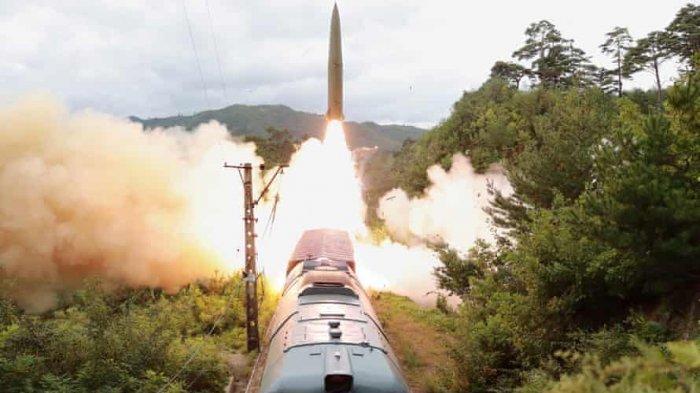 Korea Utara Kembali Uji Coba Rudal Balistik dari Kereta Api, Korea Selatan Makin Panas