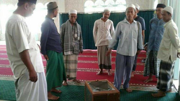 Kotak Amal Sebuah Masjid di Jatiluhur Purwakarta Dibobol Maling, Duitnya Tinggal Rp 100 Ribu