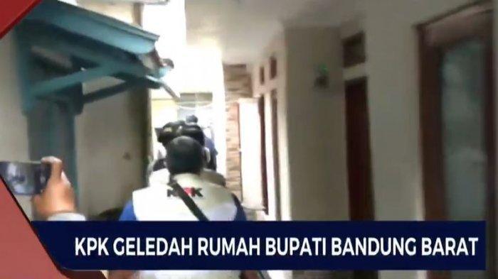 UPDATE, KPK Geledah Rumah Aa Umbara Bupati Bandung Barat ...
