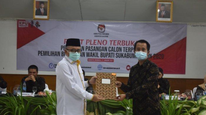 RESMI, Marwan-Iyos Ditetapkan Sebagai Pemenang Pilbup Sukabumi, Tinggal Tunggu Pelantikan