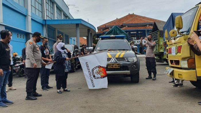 KPU Kabupaten Cianjur Lepas Distribusi Logistik, Cuaca jadi Ancaman Jelas hingga Hari Pencoblosan
