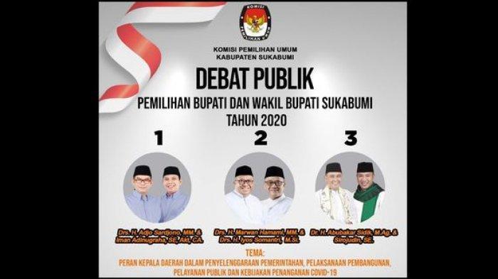 Real Count KPU Pilkada Kabupaten Sukabumi, Hingga Rabu Malam Marwan-Iyos Unggul, Ini Raihan Suaranya