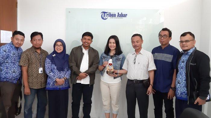 KPU Kunjungi Tribun Jabar, Bahas Hoaks yang Hantui Pilkada 2020