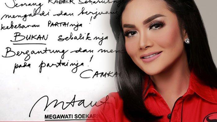 Krisdayanti Siap-siap Lolos ke Senayan, Megawati Sempat Beri Pesan Penting Saat Tunjuk KD Jadi Kader