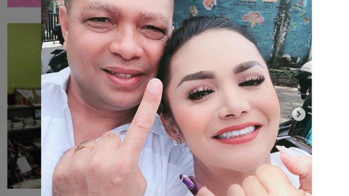 Krisdayanti dan Raul Lemos Sedang Berbahagia, Lolos Jadi Anggota DPR, Krisdayanti Tulis Doa Singkat