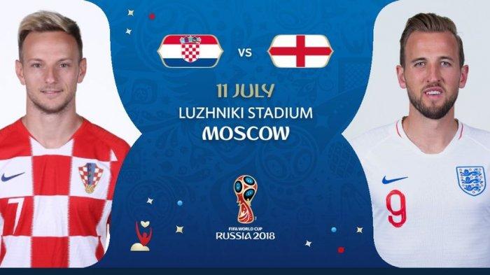 Prakiraan Susunan Pemain dan Jadwal Inggris Vs Kroasia di Piala Dunia 2018
