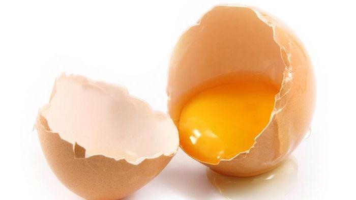 Kuning telur.