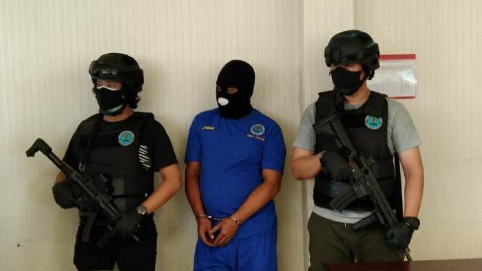kurir narkoba diamankan Polisi