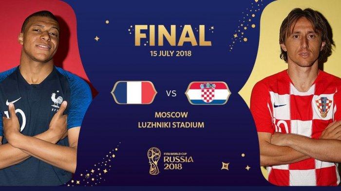 Prediksi Pemain Kunci, Kelemahan, dan Line up Perancis dan Kroasia di Final Piala Dunia 2018