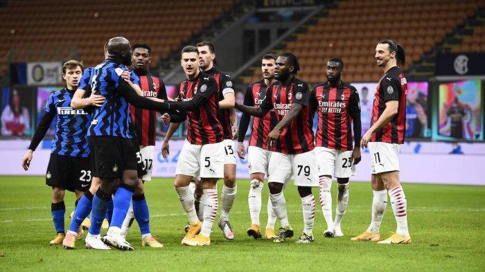 Jadwal Pertandingan AC Milan, LIVE STREAMING TV Bersama & Prediksi Susunan Pemain AC Milan vs Inter
