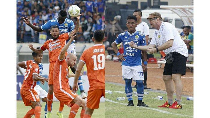 2 Pemain Persib Bandung, Ezechiel N Douassel dan Ghozali Siregar, Bikin Rekor atas Borneo FC