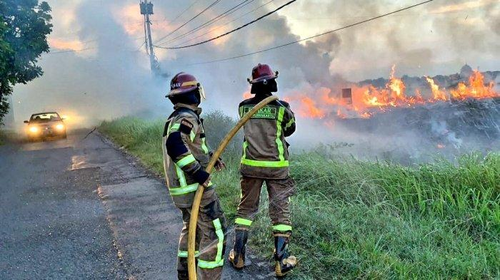 Masjid di Purwakarta Nyaris Terbakar, Gegara Ada yang Membakar Sampah dan Merembet ke Lahan Ilalang