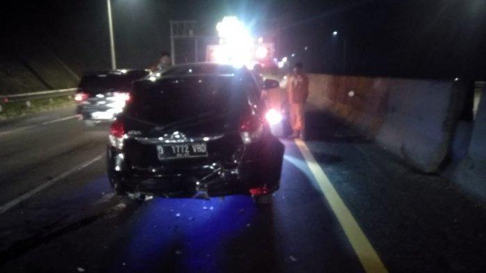 Kecelakaan Terjadi di Tol Cipularang Semalam, Jazz Tabrak Yaris di KM 100, Ini Data Korban