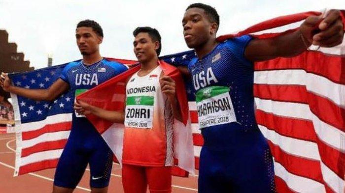 Live Streaming, Sebentar Lagi Mulai, Ini Pesaing Muhammad Zohri di Babak I 100 Meter Olimpiade Tokyo