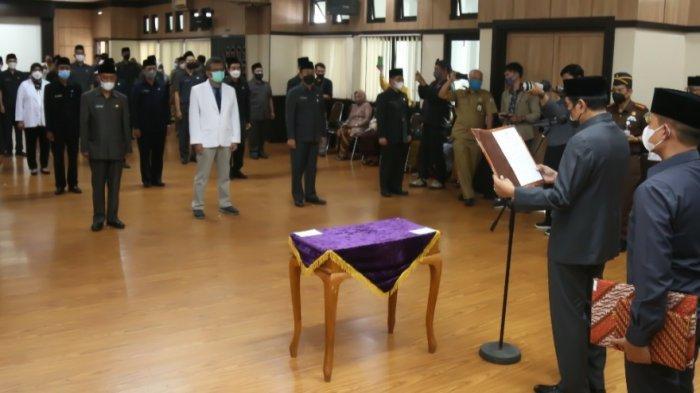 Wali Kota Tasik Lantik 10 Pejabat Eselon II Baru, Enam Lagi Masih Kosong