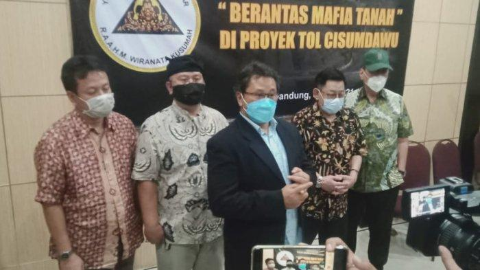 Keturunan R.A.A.H Wiranatakusumah V Laporkan Dugaan Mafia Tanah Tol Cisumdawu ke Polda Jabar