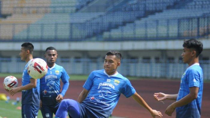 Winger Persib Bandung Ini Siap Bermain di Mana Pun dalam Turnamen Piala Menpora 2021